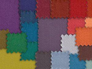 Molton nach Farben - RAL-Farben für Bühnenstoffe