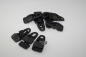 Preview: Set Eco Molton schwarz 6mx3m Clip
