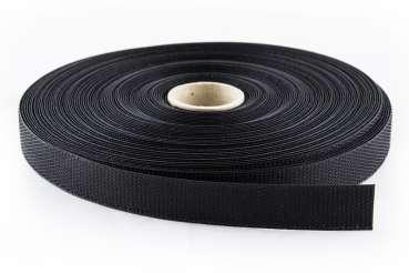 klettband zum aufn hen schwarz 20 mm breit 25 m molton markt. Black Bedroom Furniture Sets. Home Design Ideas