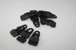 Hold-on-Clip MIDI, schwarz (groß), 10er Pack